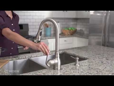 Anabelle™ Spot Resist Stainless Pulldown Kitchen Faucet ...