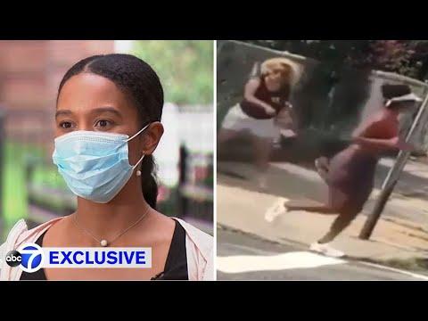 Woman hurls bottle, shouts slur at Black woman jogging in NYC