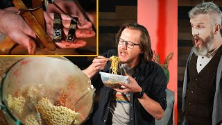 Electrocuted Ramen Is Gross and Dangerous