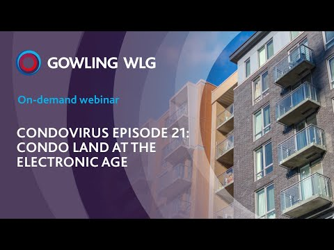 Condovirus episode 21 - Condo land at the electronic age