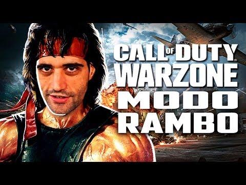 Call Of Duty: Warzone - Davy Jones No MODO RAMBO