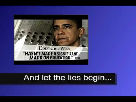 "McCain attack ad ""Education"" against Obama"