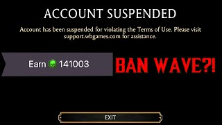 MK Mobile New Bąn Wave   Account Suspended - My Opinion TapJoy Offers Causing Bans?