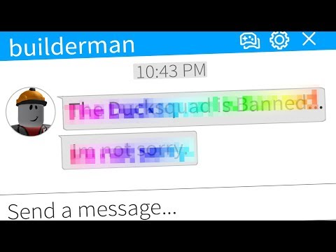 Messaging Builderman .. (CEO OF ROBLOX)