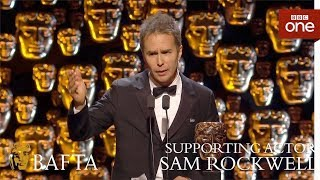Sam Rockwell wins Supporting Actor BAFTA - The British Academy Film Awards: 2018 - BBC One