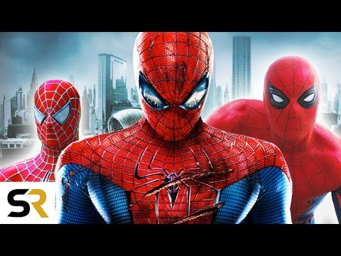 The Amazing Evolution Of SpiderMan In Movies Documentary