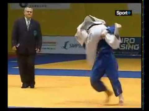 JUDO 2008 SWC Hamburg: Soraya Haddad (ALG) - Ana Carrascosa (ESP)