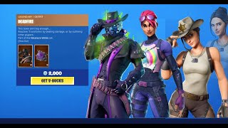 RIO , BRITE BOMBER AND DEADFIRE Skin Back In Fortnite Item Shop [11 septembre 2019]