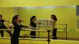 Уроки Боди Балета в Танцквартале.