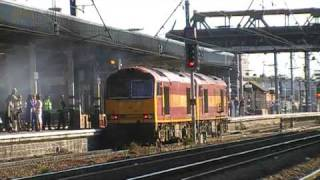 trains and tones at doncaster station part  2 of 3 26/9/09