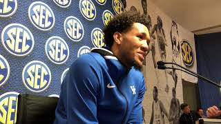 EJ Montgomery at SEC Basketball Media Day