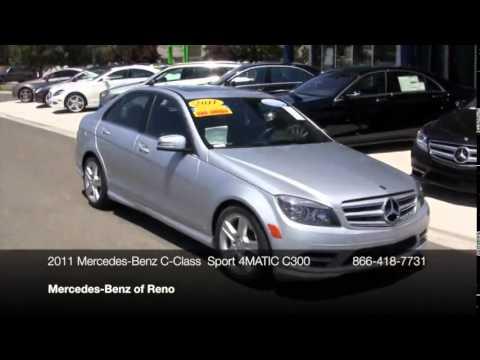 2011 mercedes benz c class c class 4dr sedan c300 sport for Mercedes benz reno nv