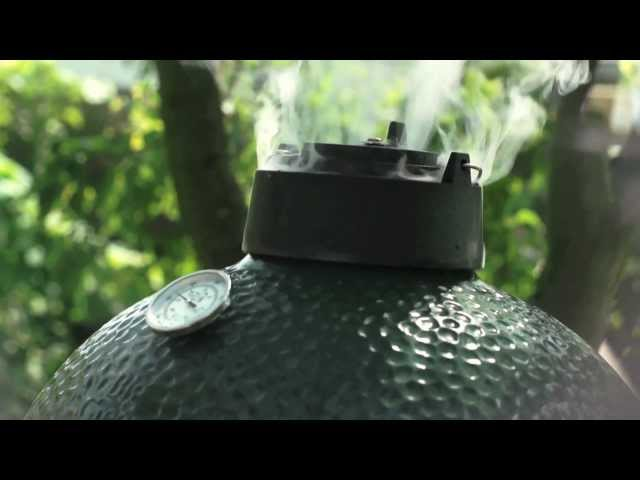 Big Green Egg MEDIUM with unlimited culinary possibilities!