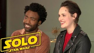 'Solo: A Star Wars Story': Donald Glover and Phoebe Waller-Bridge (Full Interview)