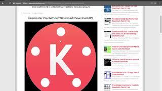 Kinemaster Pro Without Watermark Download