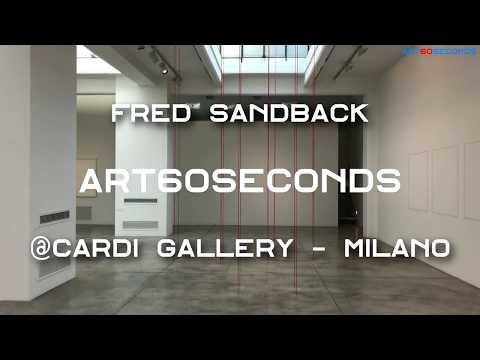 Cardi Gallery Milano presenta la mostra personale di Fred Sandback.