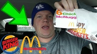 McDonald's Chicken McNuggets vs Burger King Chicken Nuggets (Reed Reviews)