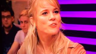 Ilse de Lange emotioneel bij RTL late night Resimi