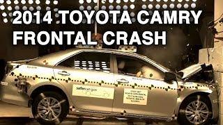 2014 Toyota Camry | Frontal Crash Test | CrashNet1