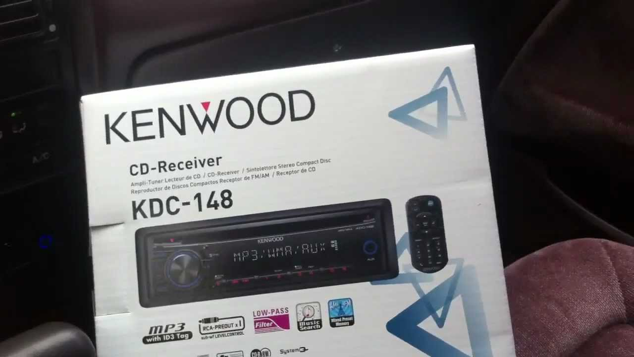 1991 Honda Accord Kenwood Cd Player Kdc