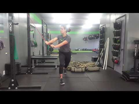Resistance Band Chop