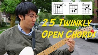 25 Twinkly Open Emo Chords In Standard
