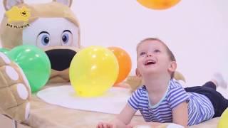 Детская кровать в виде игрушки МИШКА Биг Плюшик с бортиком. Видео-обзор Big Blushik