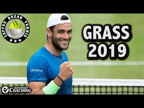 2019 Back on Grass/Halle Draw/Queens Draw   Coffee Break Tennis