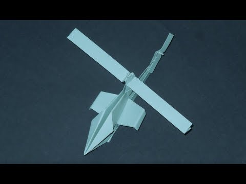 how to make paper helicopter easy
