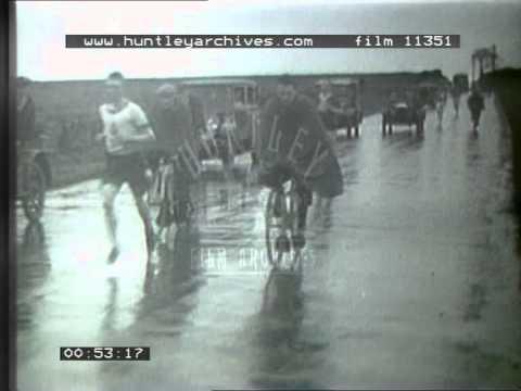 Great Tyneside Marathon, 1920's - Film 11351