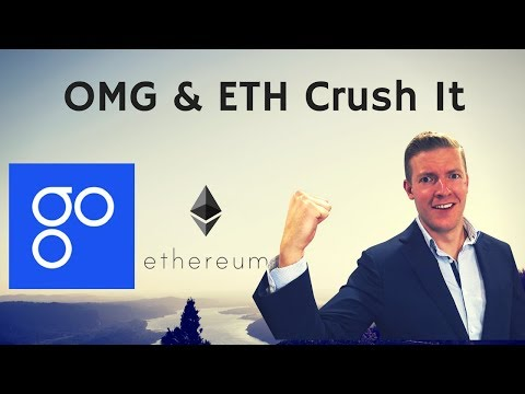 OMG! OmiseGo is Crushing It, Ethereum Keeps Running Up.. Is it too late to get in?