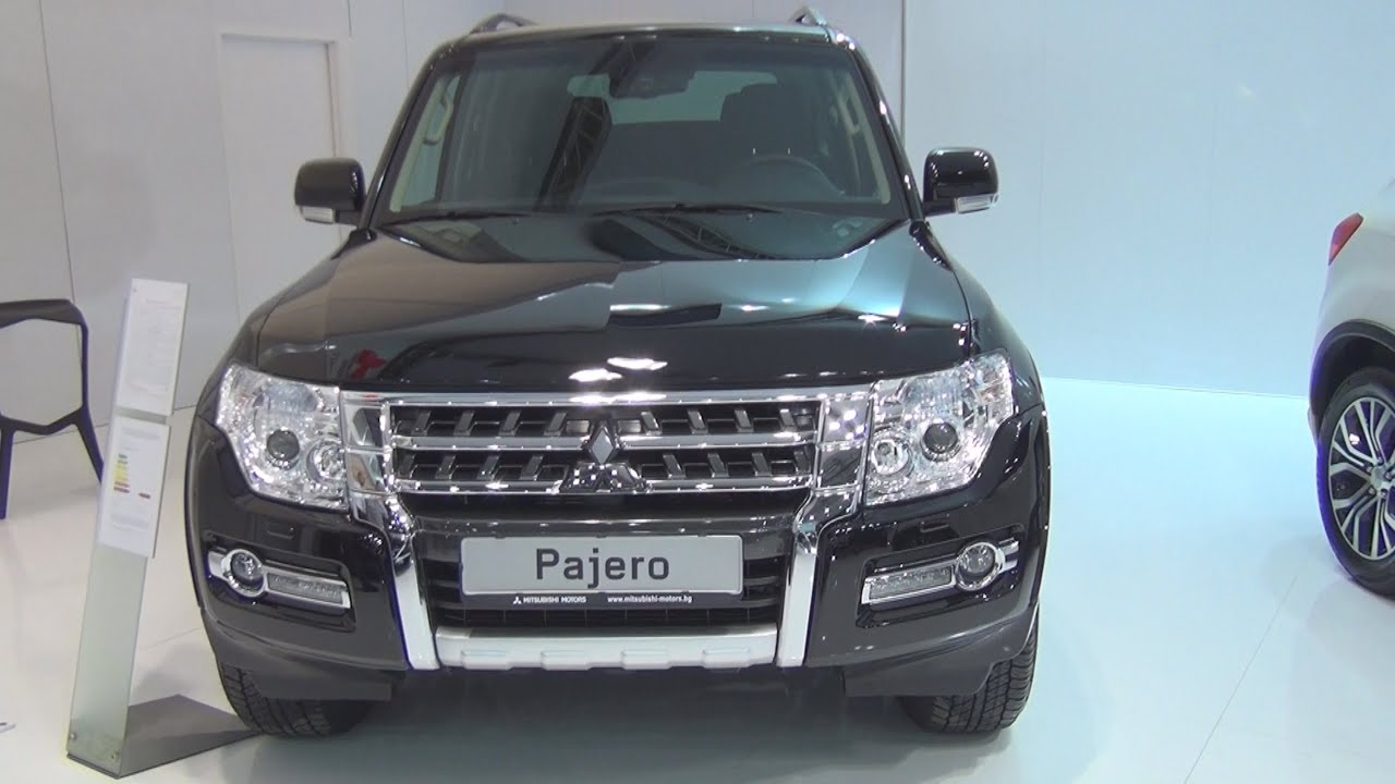 mitsubishi pajero 3 2 di d instyle a t 2016 exterior and interior in 3d youtube. Black Bedroom Furniture Sets. Home Design Ideas