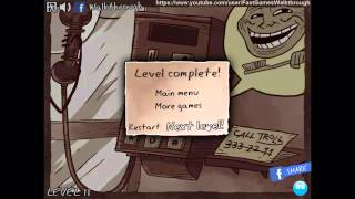 Trollface Quest 3 Fast Walkthrough