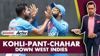 #WIvIND: KOHLI-PANT-CHAHAR down the West Indies   Castrol Activ #AakashVani