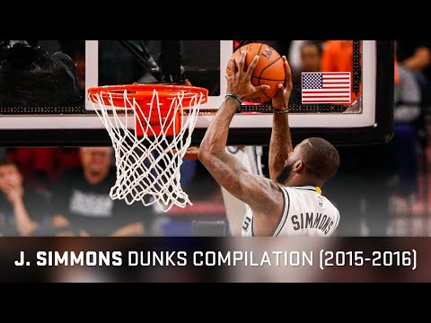 Jonathon Simmons Dunks Compilation (2015-2016)