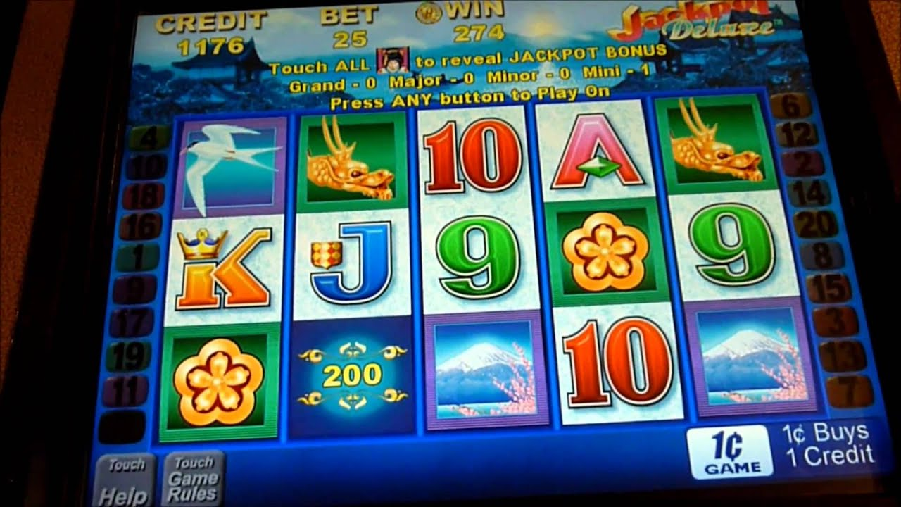 Geisha slot machine big win