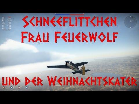 Schneeflittchen, Frau Feuerwolf und der Weihnachtskater - Focke-Wulf Fw 190 A4 - War Thunder