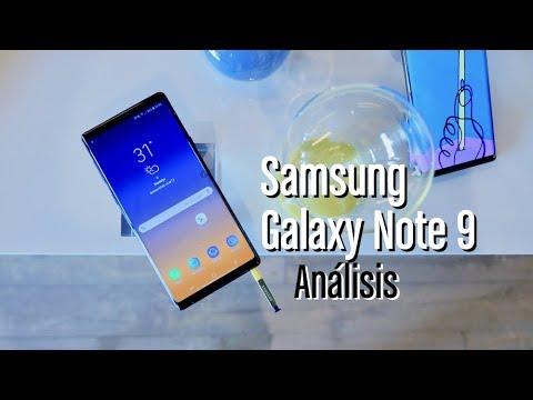 Samsung Galaxy Note 9, análisis