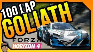 Forza Horizon 4 Live: 100 Lap Goliath. *NO PAUSING*
