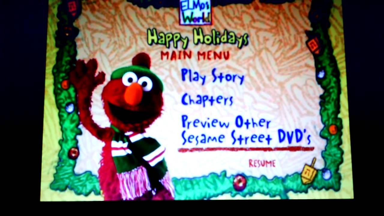 Elmo S World Happy Holidays