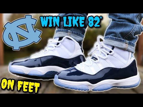 official photos f2ca9 a2751 WIN LIKE 82' AIR JORDAN 11 ON FEET! WATCH THIS BEFORE YOU ...