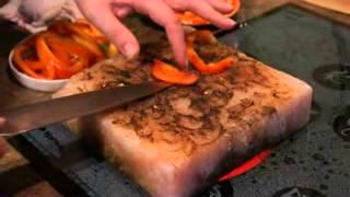 Гималайская Розовая Соль - жарим болгарский перец