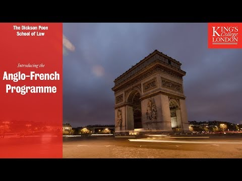 Introducing the Anglo-French Programme
