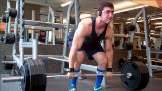 Heavy Squats, Bench Press, And Deadlifts!