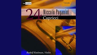 24 Caprices, Op. 1: No. 3 in E Minor: Sostenuto - Presto - Sostenuto