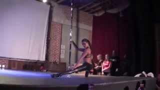 Sasja Lee Guest Performance- 2014 California Pole Dance Championship
