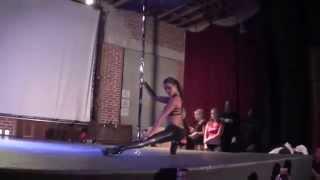 Sasja Lee Guest Performance- 2014 California Pole Dance Championship