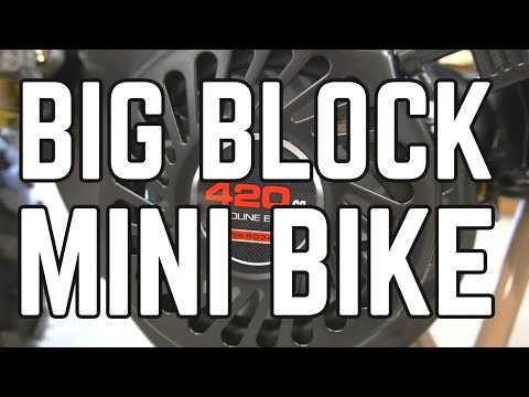 420cc Mini Bike Build Pt. 1