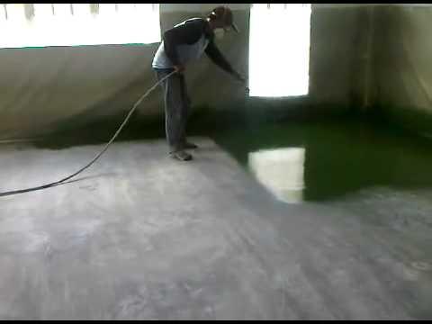 Wagner iberica superfinish pintando suelos con - Pintura poliuretano suelos ...