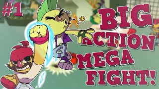 "BIG ACTION MEGA FIGHT #1 - ""Super bijatyka!"" w/LJay"